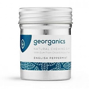 Naturalna guma do żucia - English Peppermint - Georganic - 30 szt.