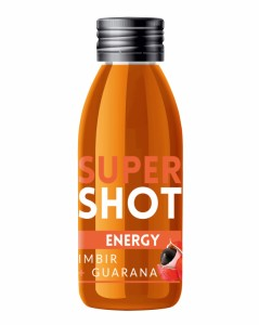Super Shot Energy - Energia i Redukcja stresu - Imbir i Guarana - Purella Superfoods - 60 ml