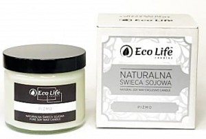Świeca sojowa o zapachu Piżma - Eco Life Candles - 250 ml