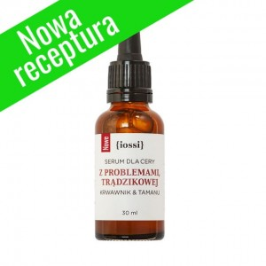 Serum do cery z problemami Krwawnik i Tamanu - Iossi - 30 ml